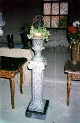 Шары, вазы, столы